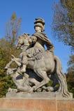 Statue of the polish king John III Sobieski, Warsaw, Poland Royalty Free Stock Photography