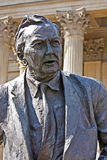 Statue politician Harold Wilson Huddersfield UK Royalty Free Stock Images