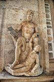 Statue of Polyphemus in the Capitoline Museums. Rome, Italy. Stock Photos