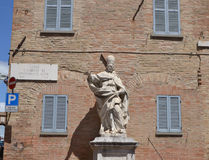 Statue Pope Clement of the XI Stock Image