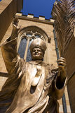 Statue of Pope John Paul the Great Stock Photo