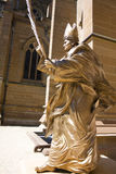 Statue of Pope John Paul the Great Royalty Free Stock Image