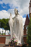 Statue Pope John Paul II Royalty Free Stock Images