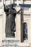 Statue of Pope Royalty Free Stock Photography