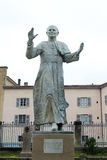 Statue of Pope John Paul II Stock Photo