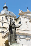 Statue of Pope John Paul II in Madrid, Spain Stock Photography