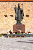 Statue of Pope John Paul II in Lezajsk, Poland Royalty Free Stock Image