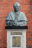 The statue of Pope John Paul II at Urakami Cathedral Stock Images