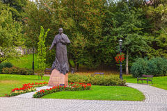 Statue of Pope John Paul II Royalty Free Stock Photos