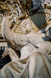 Statue of Pope Leo X by Bandinelli Royalty Free Stock Photo