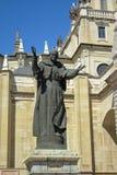 Statue of Pope Saint John Paul II, Madrid Stock Photography