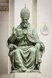 Statue Pope Sixtus V Royalty Free Stock Images