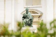 Statue Pope Sixtus V Royalty Free Stock Photos