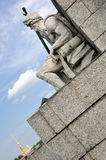 Statue of Poseidon Stock Image