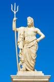 Statue of Poseidon Stock Photo