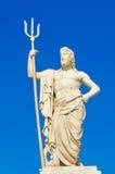 Statue of Poseidon Royalty Free Stock Photography