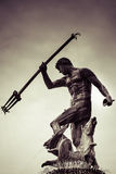Statue of Poseidonon in Gdansk, Poland Royalty Free Stock Images