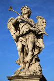 Statue Potaverunt me aceto on bridge Castel Sant' Angelo, Rome Royalty Free Stock Images