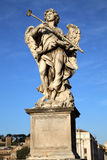 Statue Potaverunt me aceto on bridge Castel Sant' Angelo, Rome Royalty Free Stock Photography