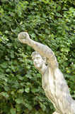 Statue of Power. An image of a European statue that reflects the theme of power Stock Image