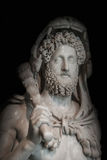 A statue of powerful Hercules, closeup, Rome, Italy Stock Image