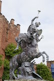 Statue in Powis Castle, England Royalty Free Stock Photography