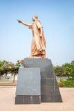 Statue Präsidenten Kwame Nkrumah in Accra, Ghana Stockbild