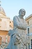 The statue of the Praetorian Fountain Stock Photo