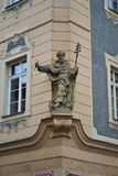 Statue in Prag lizenzfreie stockfotografie