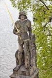 Statue a Praga Fotografia Stock