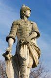 Statue in Prato-della Valle in Padua Stockfoto