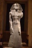 Statue of praying Amenemhat III Stock Images