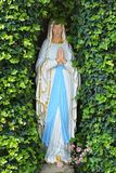 Statue of a praying Madonna Stock Image
