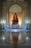 Statue of President George Washington. Inside George Washington Masonic National Memorial on Oct 15, 2011 Stock Image