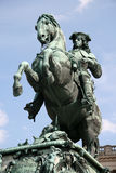 Statue of Prince Eugene in Hofburg Palace, Vienna, Austria Royalty Free Stock Images