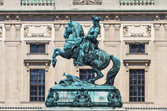 Statue of Prince Eugene of Savoy, Vienna Stock Photo