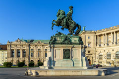 Statue Of Prince Eugene of Savoy In Vienna Royalty Free Stock Photo