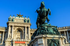 Statue Of Prince Eugene of Savoy In Vienna Royalty Free Stock Photos