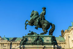 Statue Of Prince Eugene of Savoy In Vienna Royalty Free Stock Images
