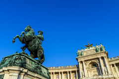 Statue Of Prince Eugene of Savoy In Vienna Stock Photography