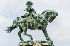 Statue Prince Eugene of Savoye Royalty Free Stock Photo