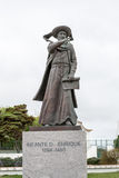 Statue of Prince Henry the Navigator in Sagres & x28;Portugal& x29; Royalty Free Stock Image