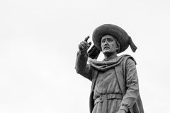 Statue of Prince Henry the Navigator in Sagres & x28;Portugal& x29; Stock Photo