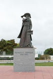 Statue of Prince Henry the Navigator in Sagres & x28;Portugal& x29; Stock Photos