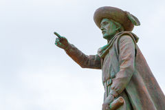 Statue of Prince Henry the Navigator in Sagres & x28;Portugal& x29; Royalty Free Stock Photos