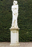 Statue of princess in gleams garden. Statue of princess in Glamis garden Royalty Free Stock Photos
