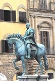 Statue of Profligatis Hostib, Florence, Italy. Statue of Profligatis Hostib on his horse, Florence, Italy Stock Image
