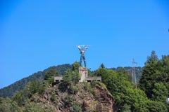 Statue of Prometheus Royalty Free Stock Photos