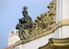 Statue of the prophet Royalty Free Stock Photography