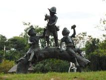 Statue. Public park, art, architecture royalty free stock photos
